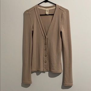 FREE PEOPLE button down shirt/cardigan size small